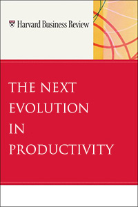 The Next Revolution in Productivity